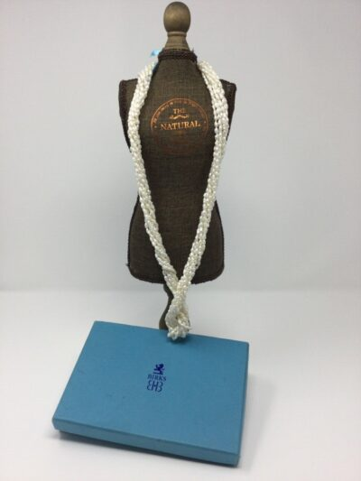 Birks freshwater rice pearl necklace